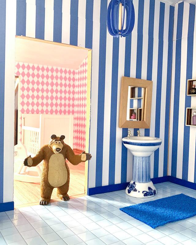 Dollshouse - il bagno di Orso